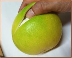 土佐文旦の食べ方2−3
